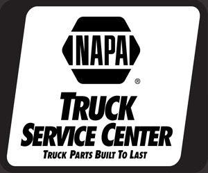 Truck Repair Center Logo Sq Gray